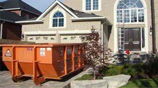 Our Bins are Driveway Friendly!